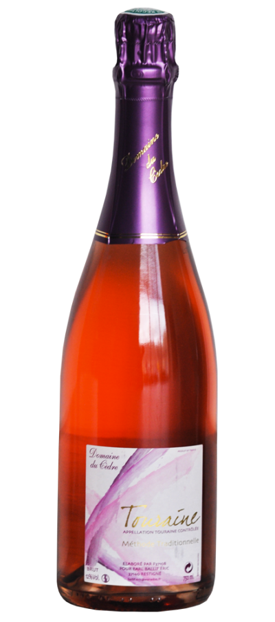 Touraine rosé pétillant